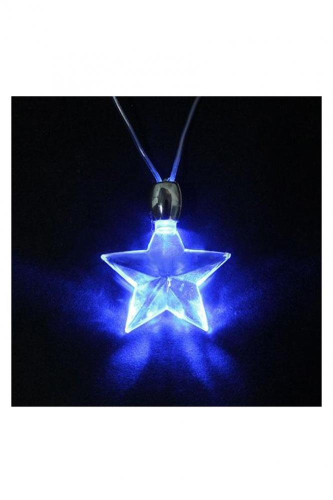 silver pendants sterling heart lady of item gift pendant necklace bue crystal real ocean star small blue jewelry