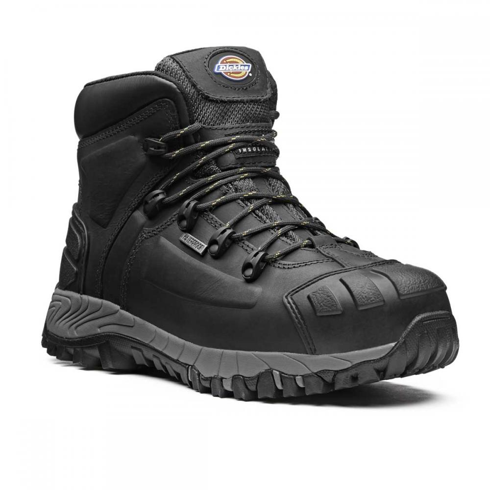 2a8b2fce52d Details about Dickies Medway S3 Waterproof Thinsulate Lined Steel Toe Work  Safety Hiker Boots