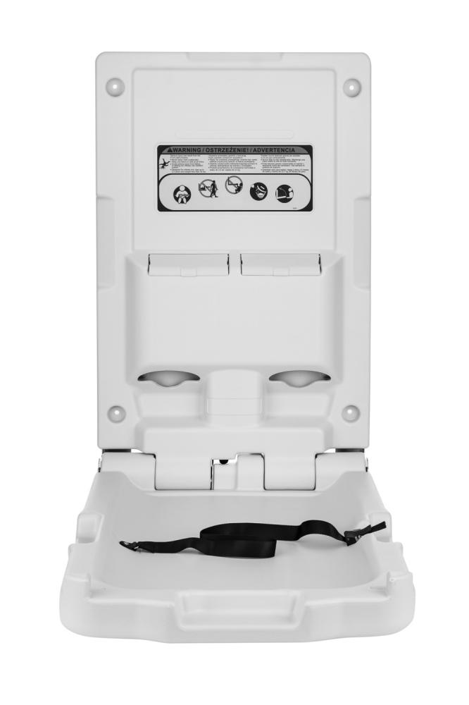 Baby Change Changer Vertical Changing Unit Station Wall
