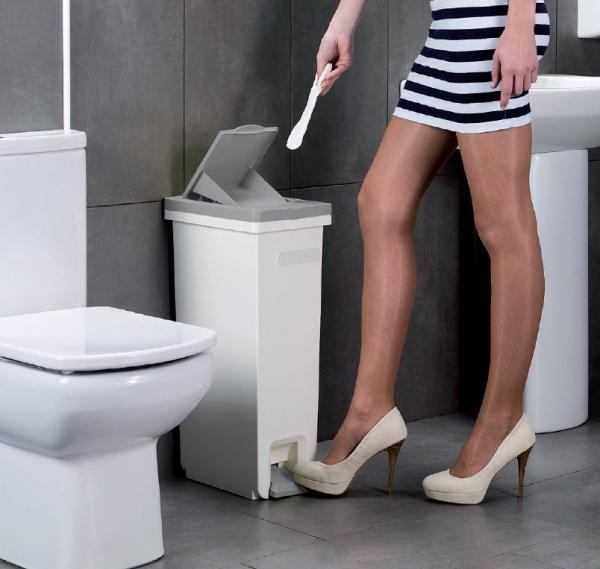 30l Sanitary Waste Bin Ladies Feminine Hygiene Disposal