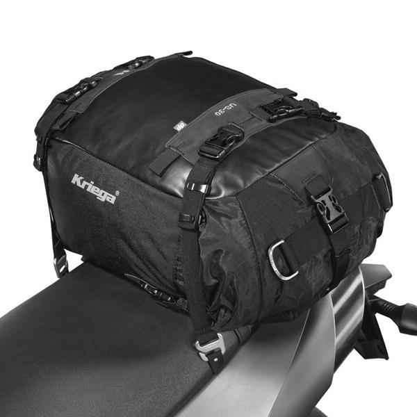 kriega us30 drybag motorrad hecktasche koffer touring. Black Bedroom Furniture Sets. Home Design Ideas