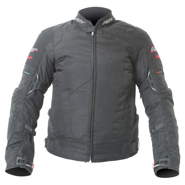 RST 1349 Ladies Blade Sport Waterproof Textile Motorcycle Motorbike Jacket Red