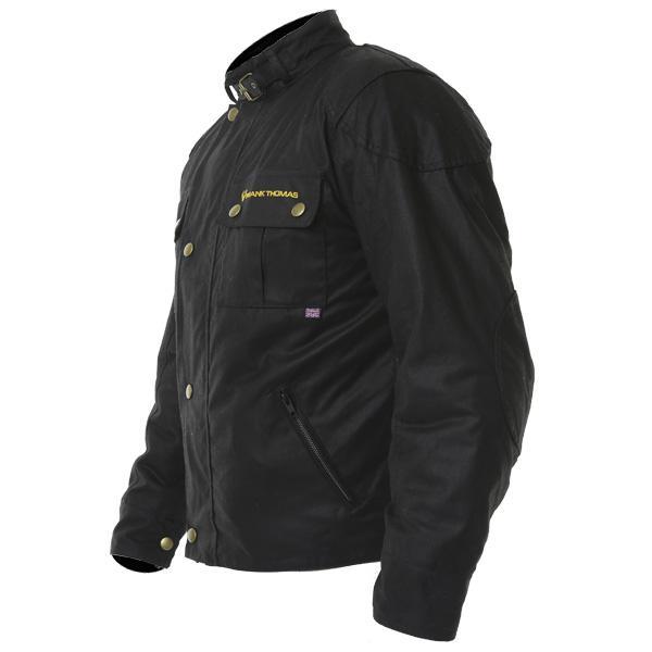 Frank Thomas Chester British Wax Cotton Motorcycle Jacket