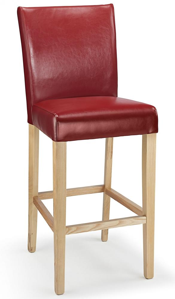 Pranzo Real Leather Commercial Grade Bar Stool Ebay