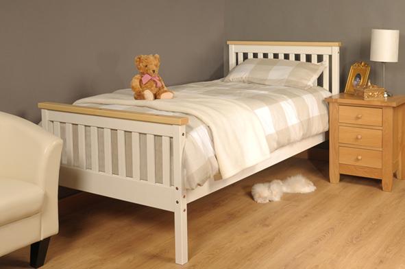 Atlantis Bedroom Furniture Atlantis Bed Chocolate White Pine 5Ft King 4Ft6 Double & 3Ft .