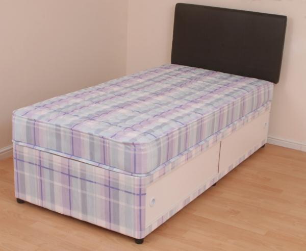 single divan bed 3ft orthopaedic mattress melissa slide. Black Bedroom Furniture Sets. Home Design Ideas