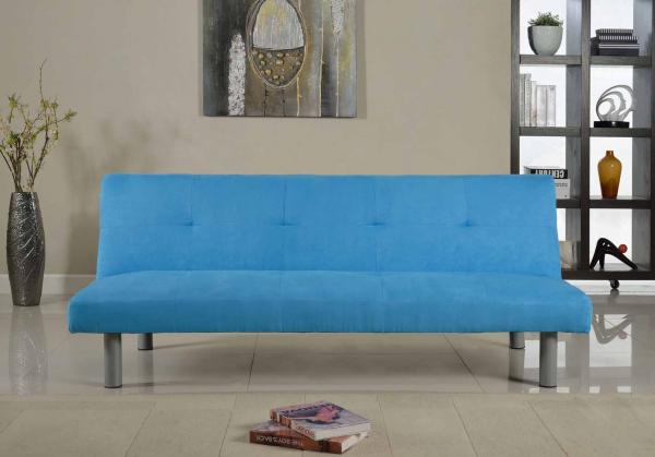 Faux Suede Canterbury Fabric Sofa Bed 3 Seater Click