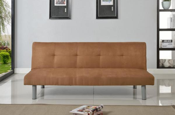 Superieur Faux Suede Canterbury Fabric Sofa Bed 3 Seater   Click Clack Sofa In 4  Colours
