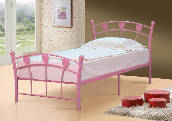 Single Bed Metal Frame 3ft Single Jemima Free Delivery Ebay