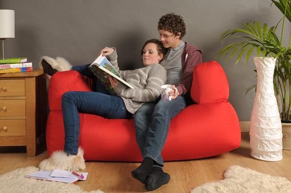 Bon Bean Bag 2 Seater Sofa In 10 Bright Colours Sofa Beanbag Childrens U0026 Adults