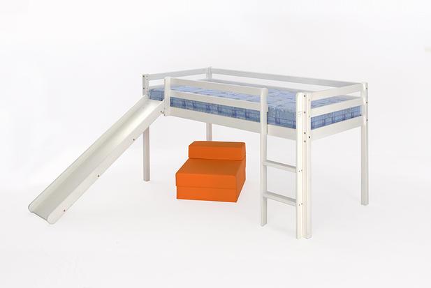 3ft Mid Sleeper White Single Free Delivery Slide Option