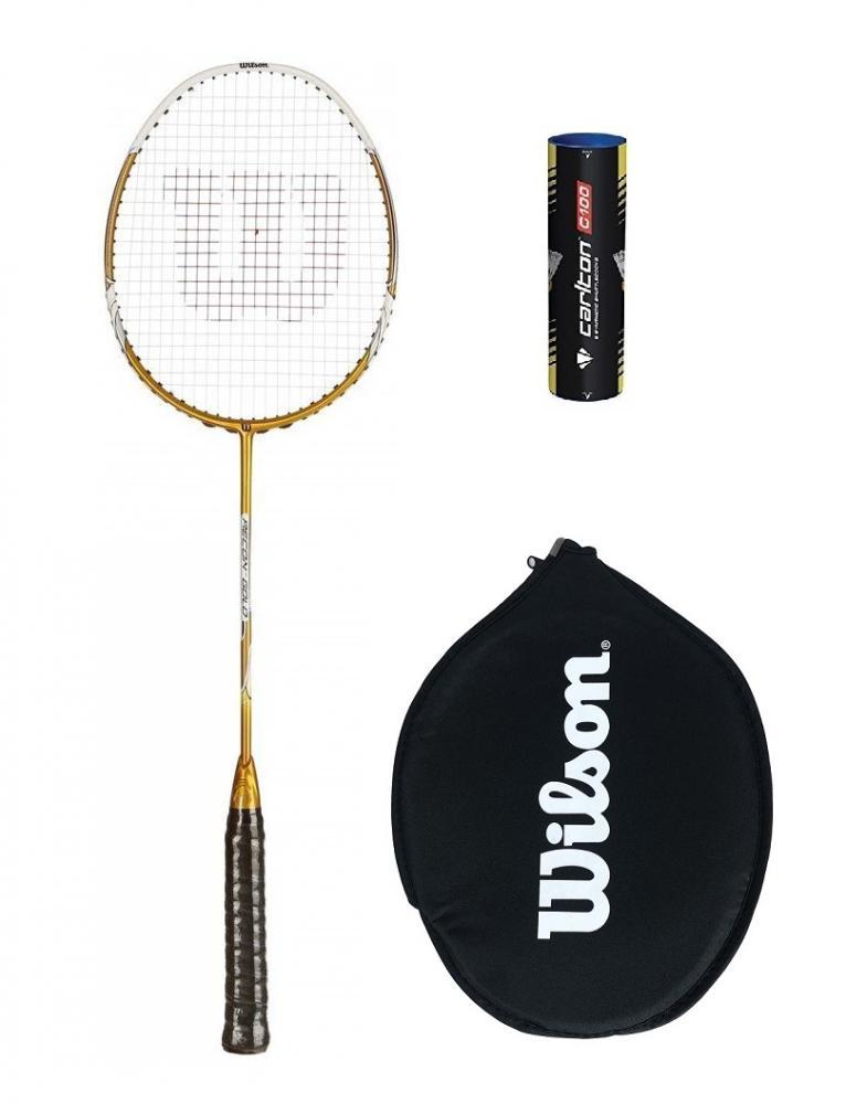 Prince Pro Rebel Nano 75 Graphite badminton raquette 6 navettes RRP £ 110