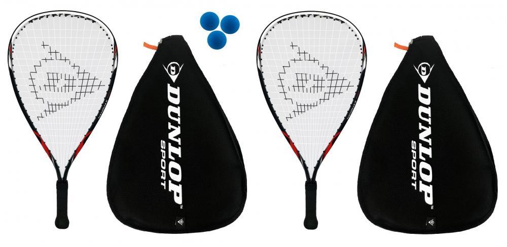 3 balles de squash rrp £ 610 2 x BROWNING esp 100 ti Nano squash raquettes