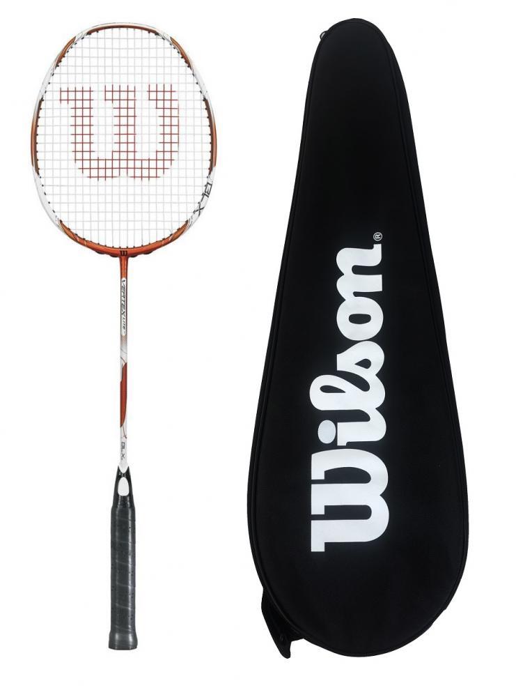 Carlton Pro attaque Ti 75 Badminton Raquette Couverture RRP £ 50