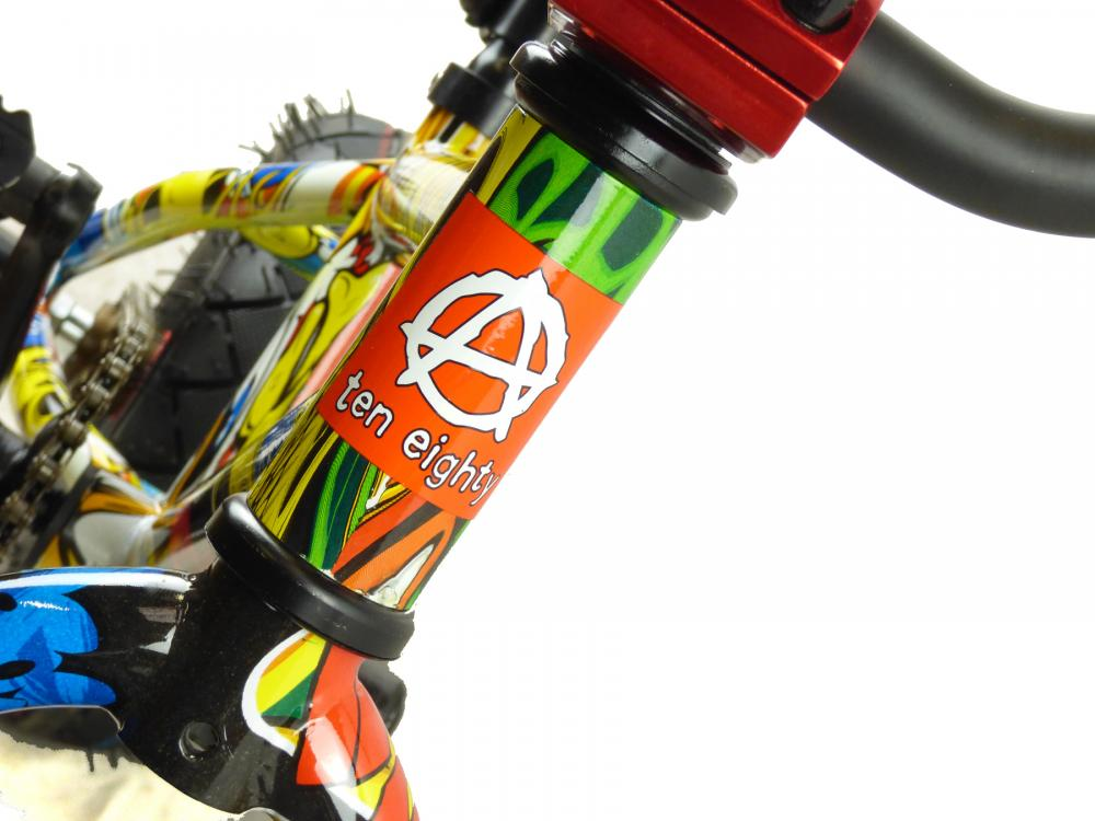 New Limited Ed 1080 Kids Stunt Freestyle Graffiti Ii 10