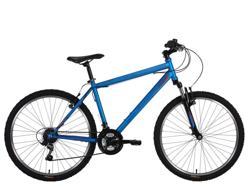 Tiger Fury Mens Hardtail Mountain Bike MTB Blue 26\