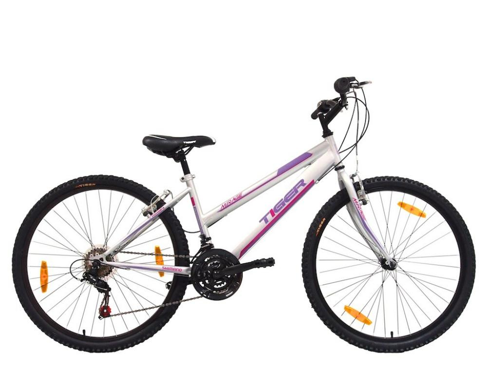 Tiger Mirage Ladies Women Mountain Bike MTB White 26\