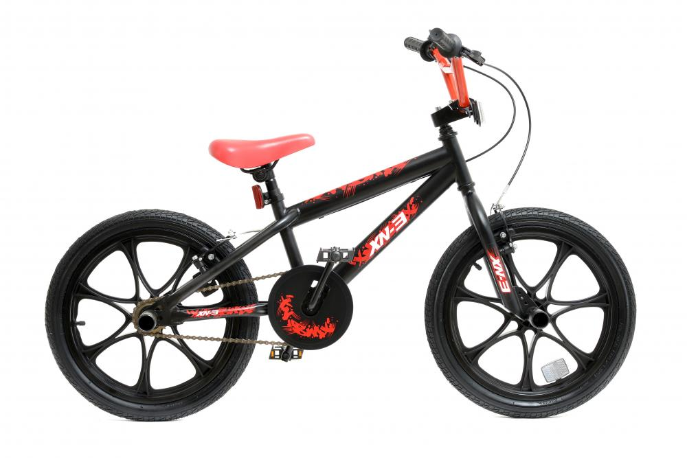 a8ee917d302 Details about XN-3-18 Boys Kids Freestyle BMX Bike Stunt Pegs 18