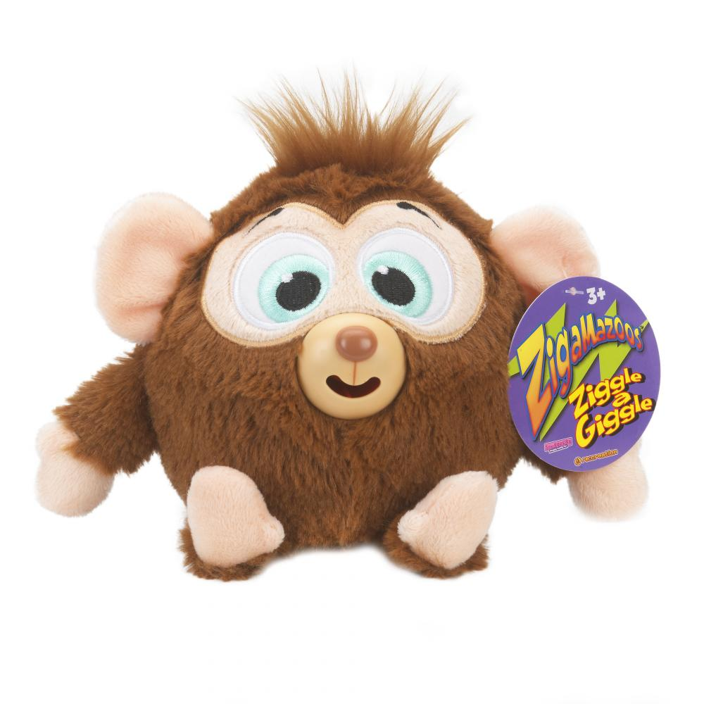 Zigamazoo New Snuggables Ziggle And Giggle Teddy Toy 8