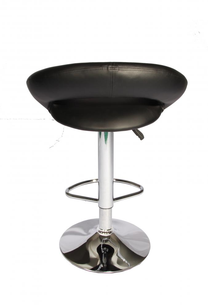 Black Modern Adjustable Synthetic Leather Swivel Bar Stools Chairs B02-Sets of 2  sc 1 st  eBay & Modern Black Adjustable Synthetic Leather Swivel Bar Stools Chairs ... islam-shia.org