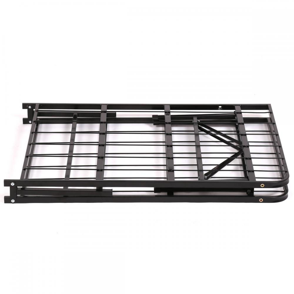 New Modern Bi Fold Folding Platform Metal Bed Frame