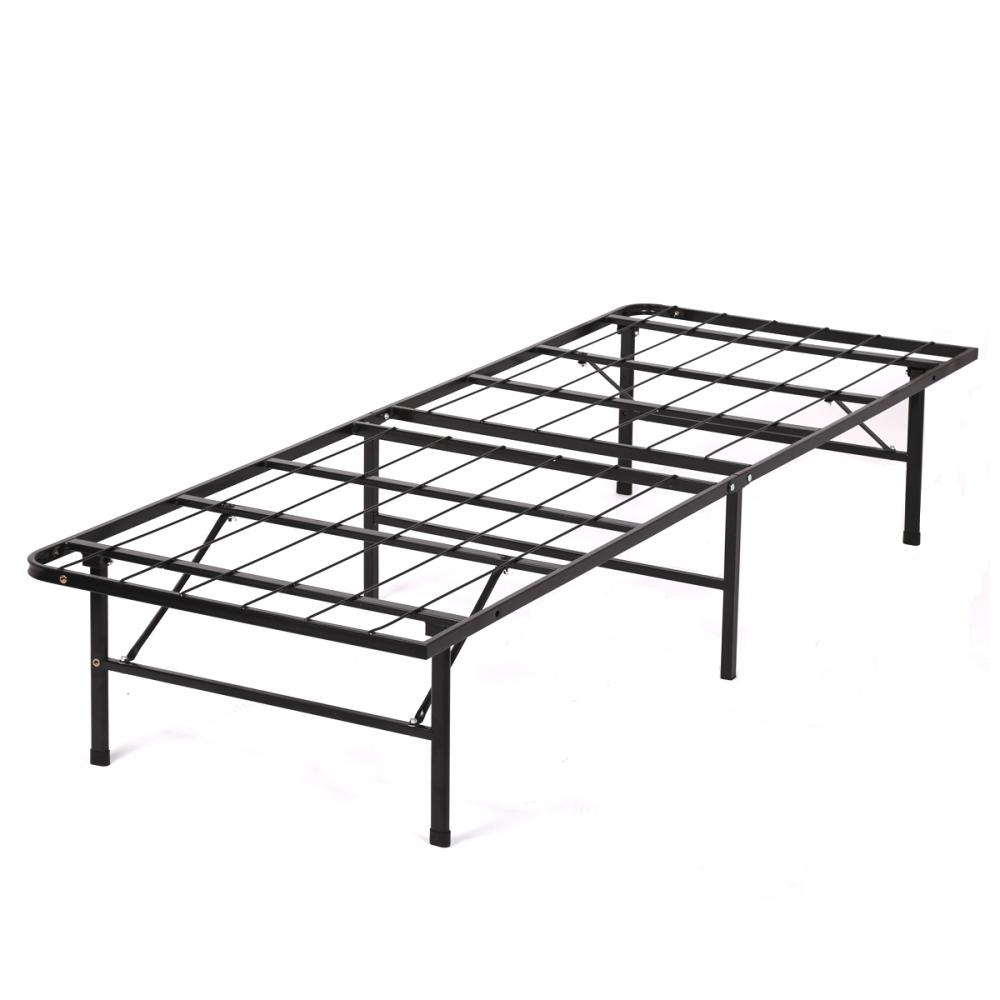 New Modern Bi Fold Folding Platform Metal Bed Frame