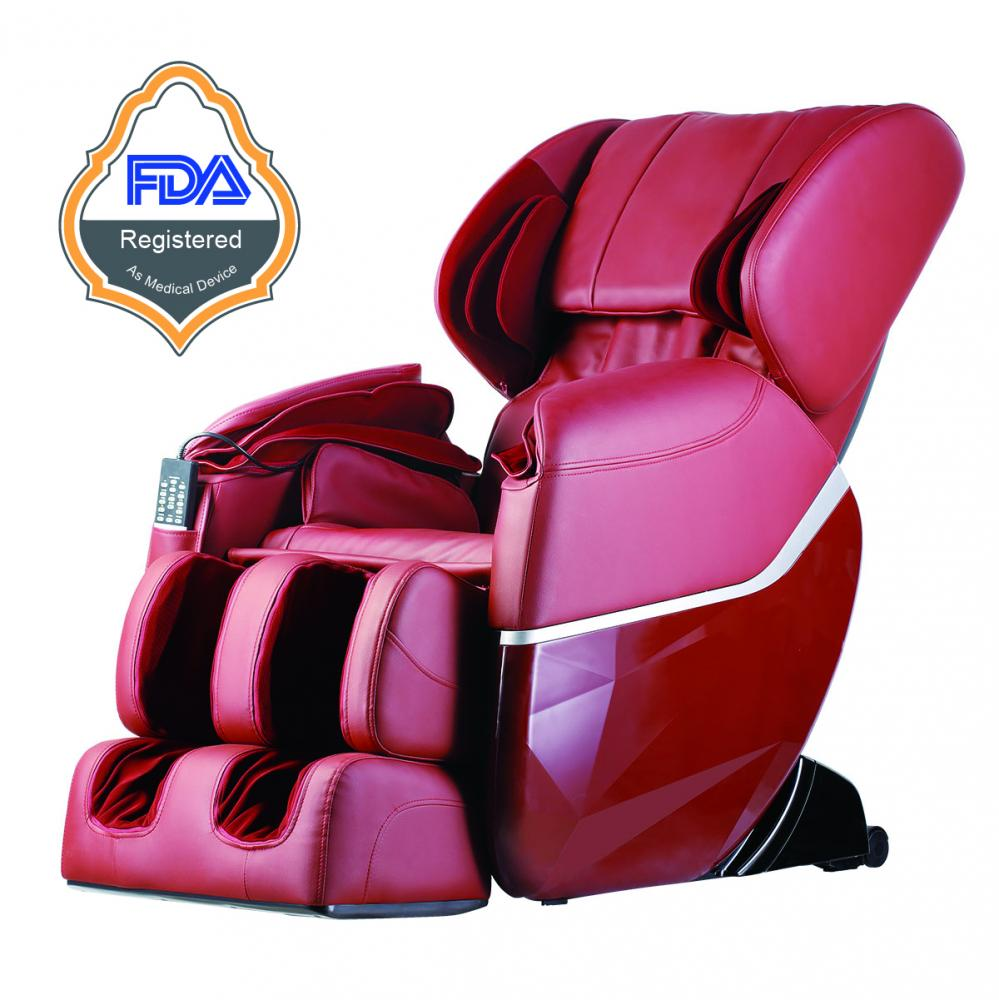 New electric full body shiatsu massage chair recliner zero for Full body shiatsu massage mat