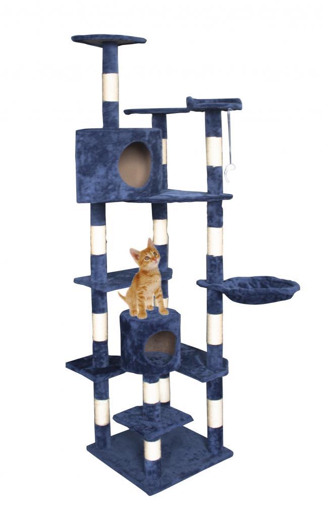 New Cat Tree 80 Quot Condo Furniture Scratching Post Pet Cat