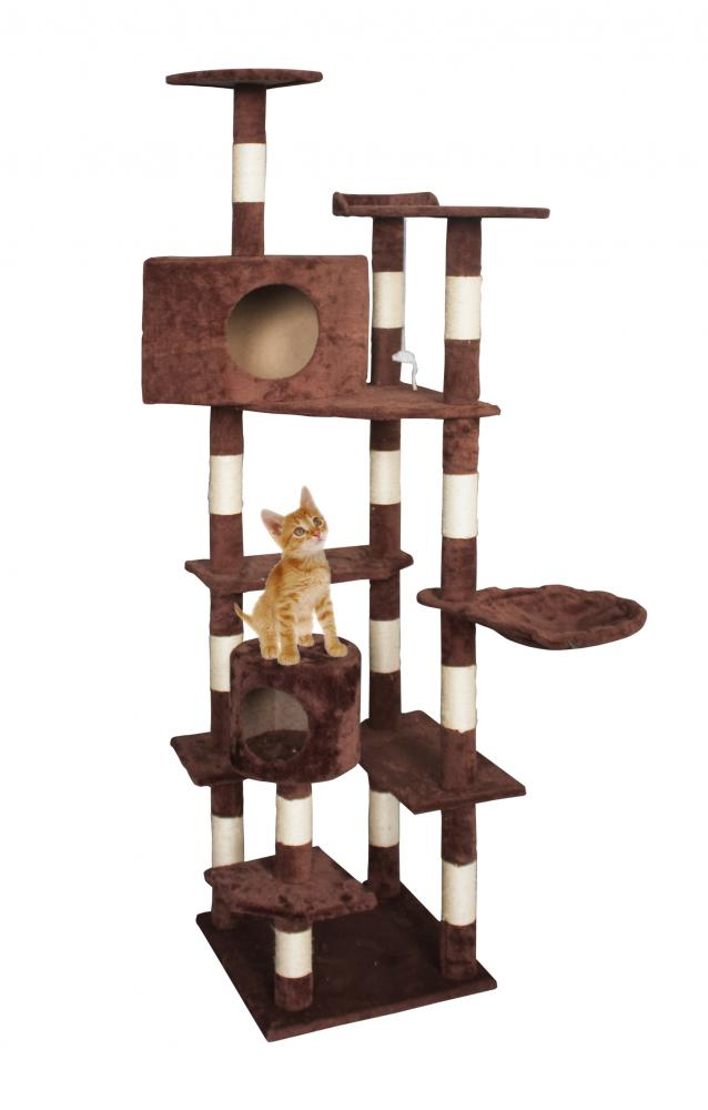 New Cat Tree 80 Quot Condo Furniture Scratching Post Pet Cat