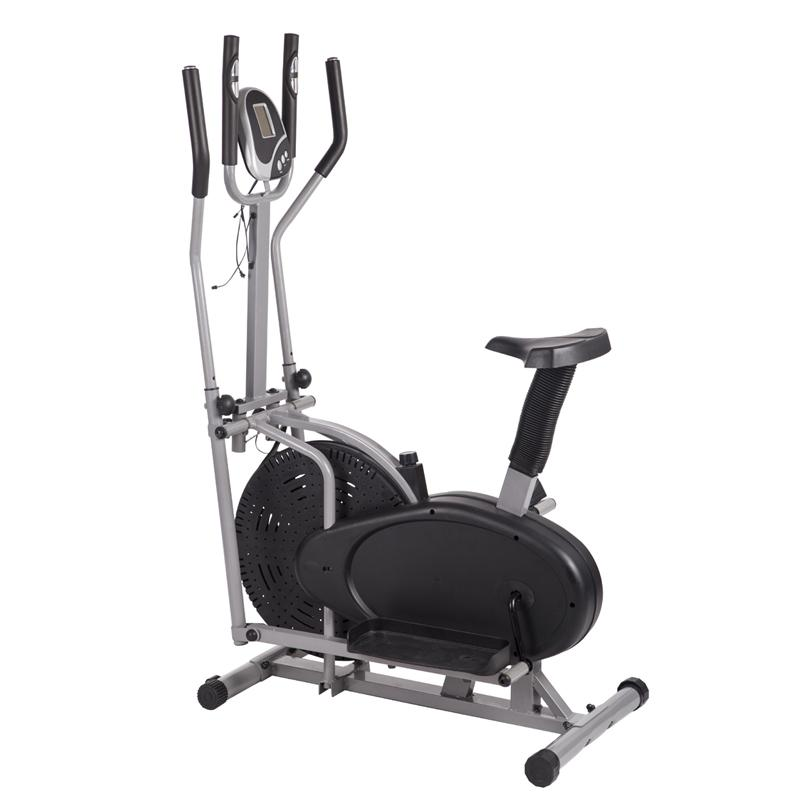 Elliptical Or Bike For Bad Knees: Elliptical Bike 2 IN 1 Cross Trainer Exercise Fitness