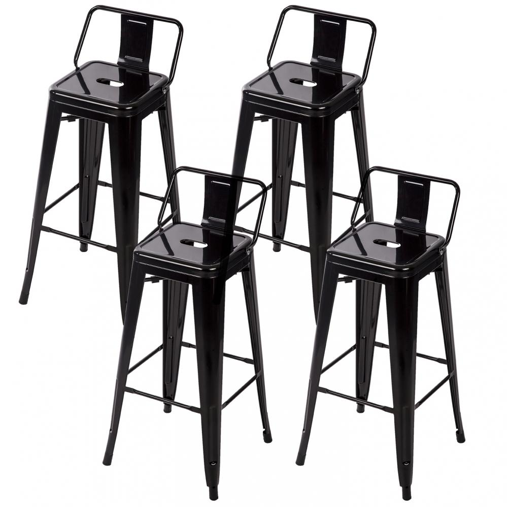 30 Metal Frame Tolix Style Bar Stools Industrial Chair