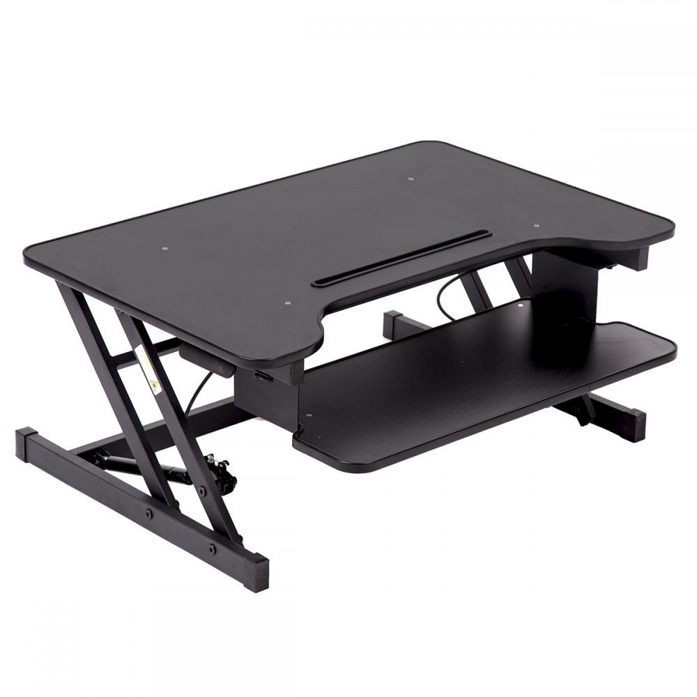32 Platform Height Adjule Standing Desk Riser Removable Keyboard Tray Y 45