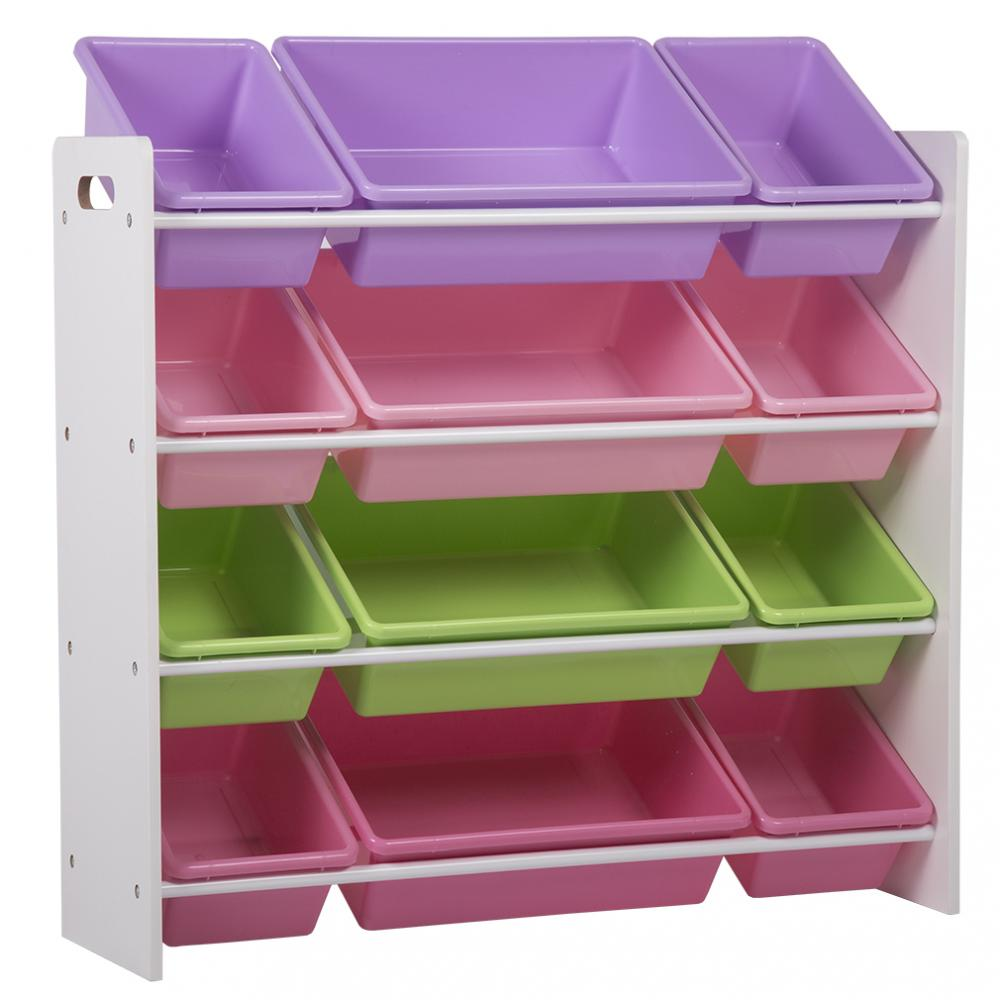 Delicieux Kids Toy Storage Organizer With Plastic Bins, Storage Box Shelf Drawer 8526