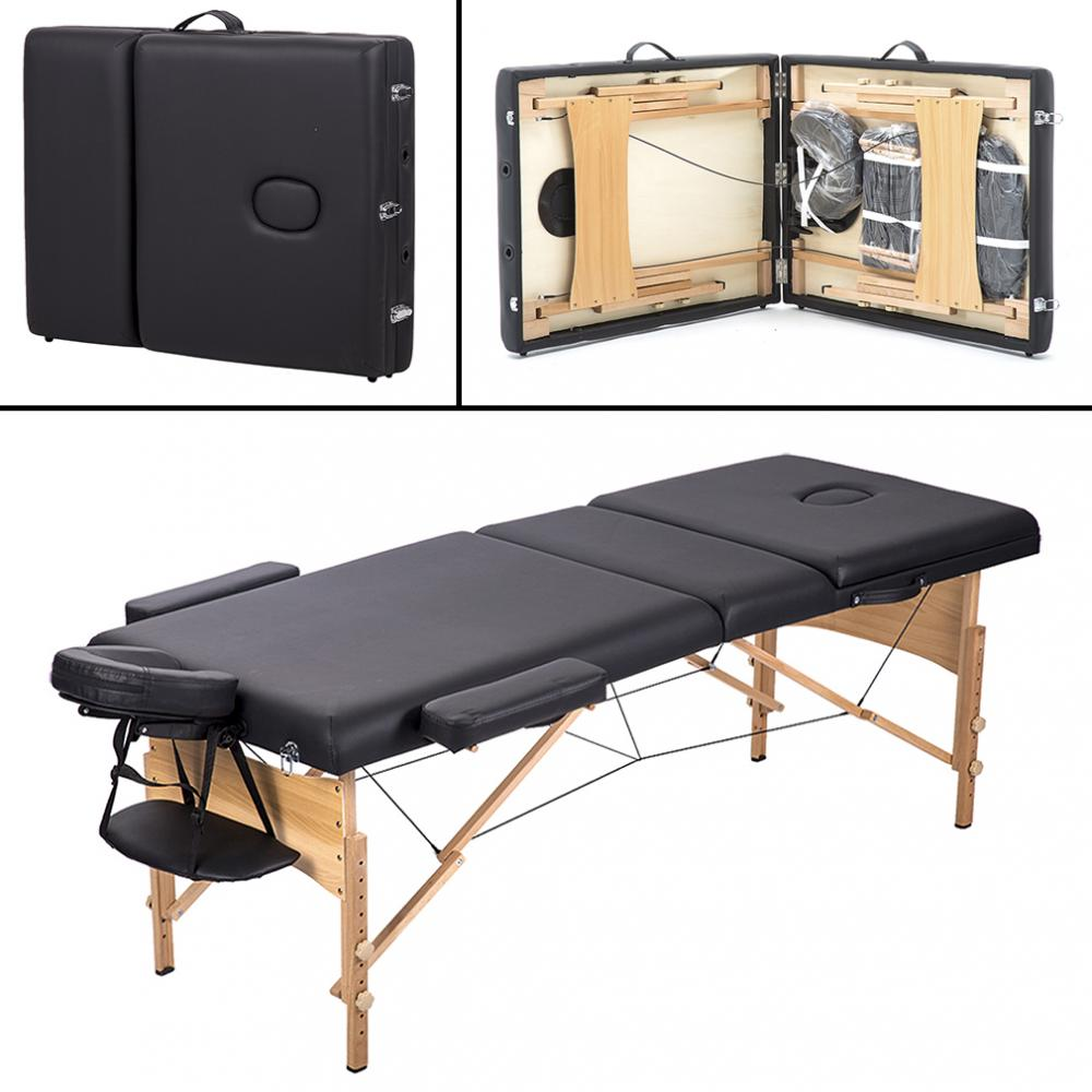 Bestmassage 3 Fold Portable Massage Table W Free Carry