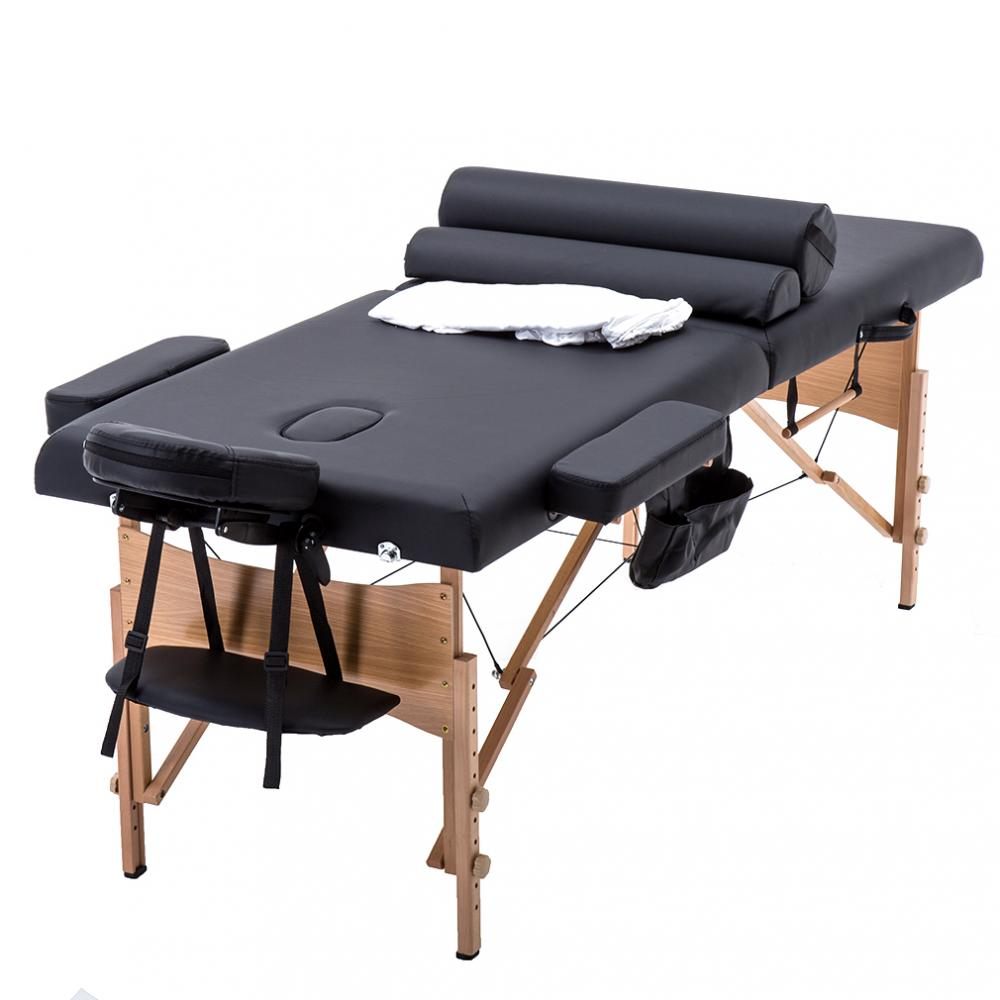 Bestmassage 2 Fold Portable Massage Table W Free Carry