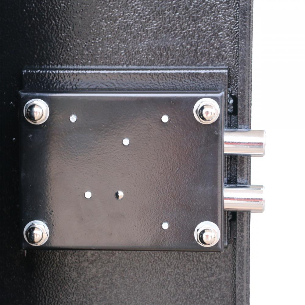 2 Key 3 Gun Rifle Storage Cabinet Case Safe Rack Pistol