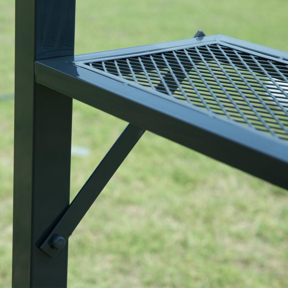 Brown 8 X 5 Bbq Grill Gazebo Barbecue Canopy Bbq Grill