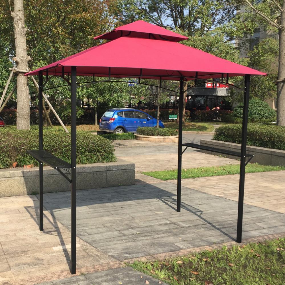 New 8 X 5 Grill Gazebo Steel Frame Outdoor Backyard Bbq