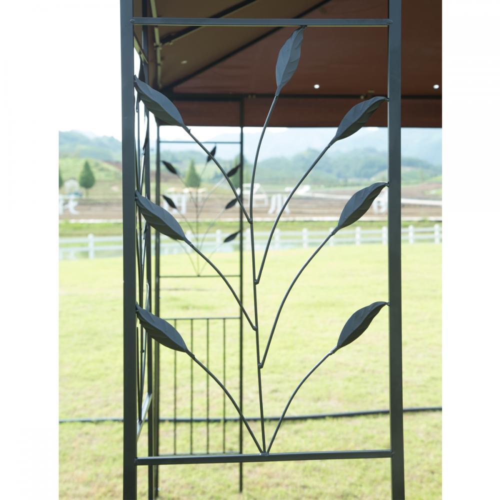 12 X 10 Outdoor Gazebo Steel Frame Vented Gazebo W