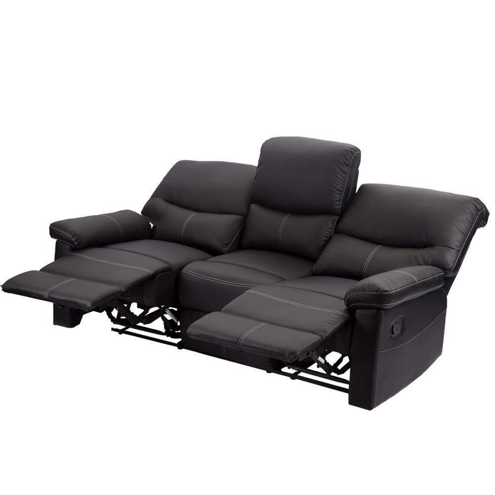 Loveseat Chaise Couch Recliner 3+2+1 Leather Living Room Furniture PR