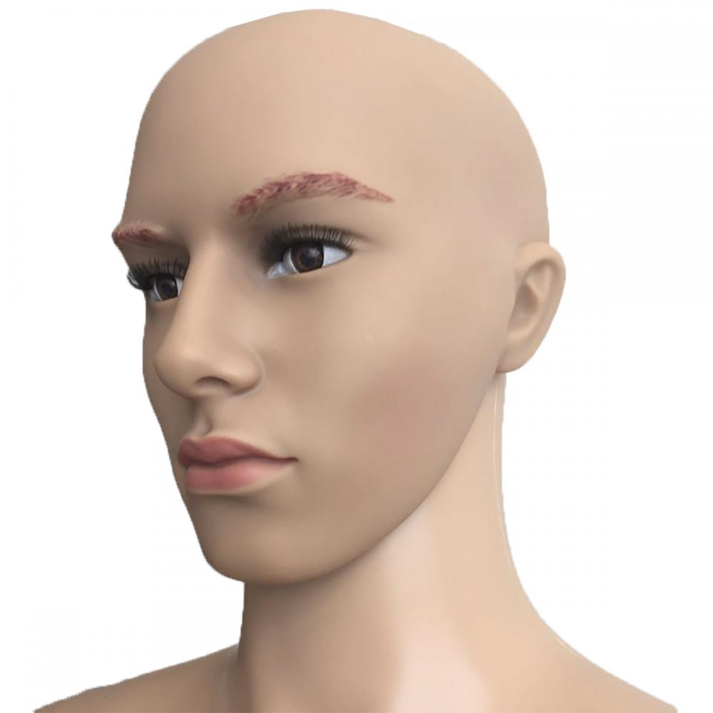 Male Full Body Realistic Mannequin Display Head Turns