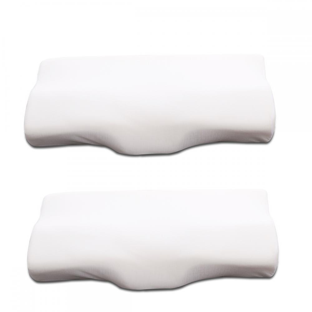 2 Pcs Queen Size Memory Foam Pillow Great For Relieving