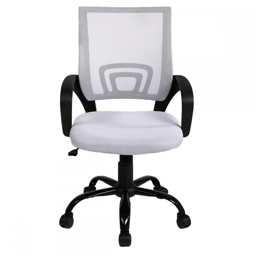 White Ergonomic Mesh Computer Office Desk Midback Task