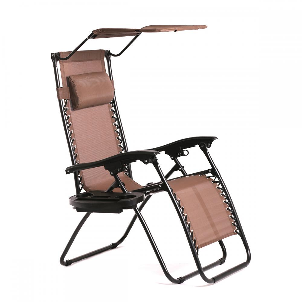 New Zero Gravity Chair Lounge Patio Chairs Outdoor With