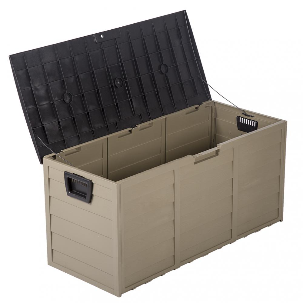 Outdoor Patio Deck Box Large Storage Cabinet Container