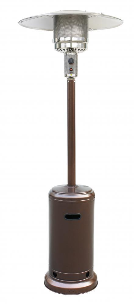 Patio Heater Tall Bronze Finish Garden Outdoor Heater