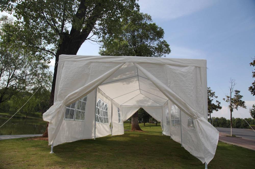 10 X30 White Outdoor Gazebo Canopy Wedding Party Tent 8