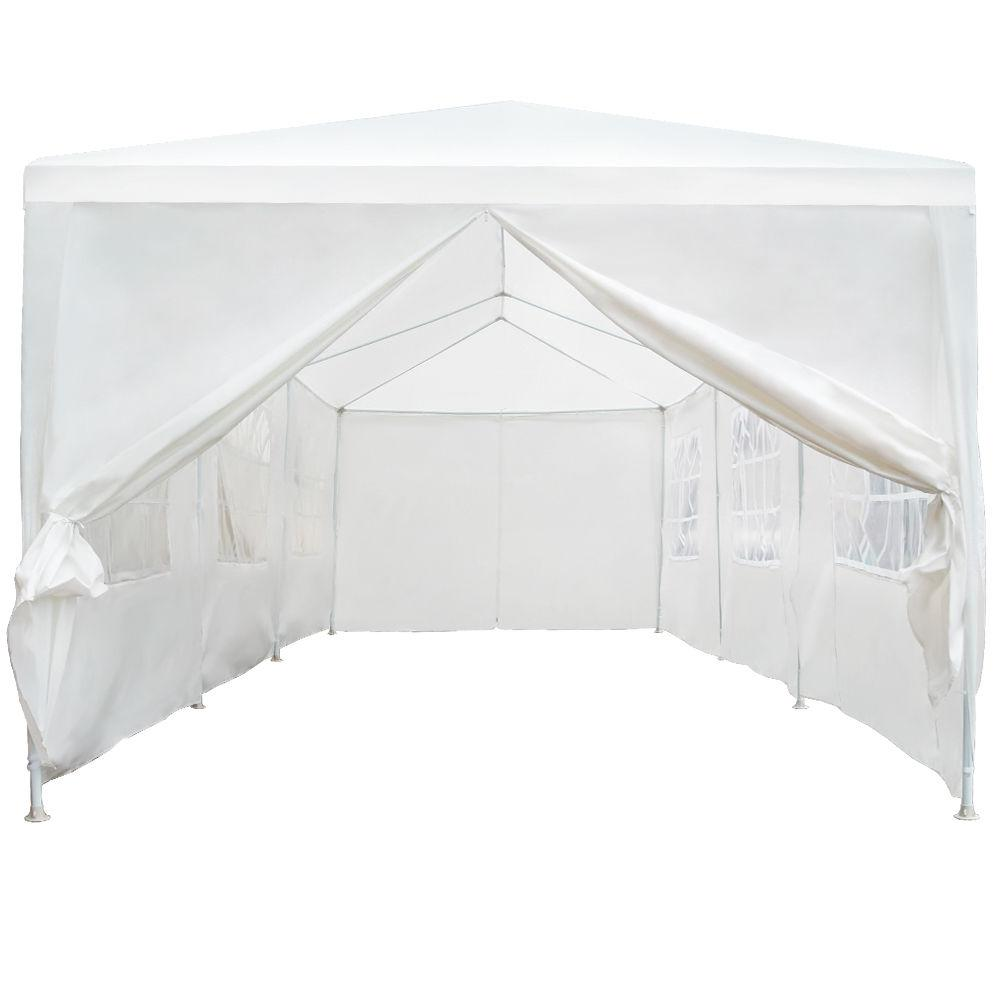 10 X30 White Outdoor Gazebo Canopy Wedding Party Tent 8