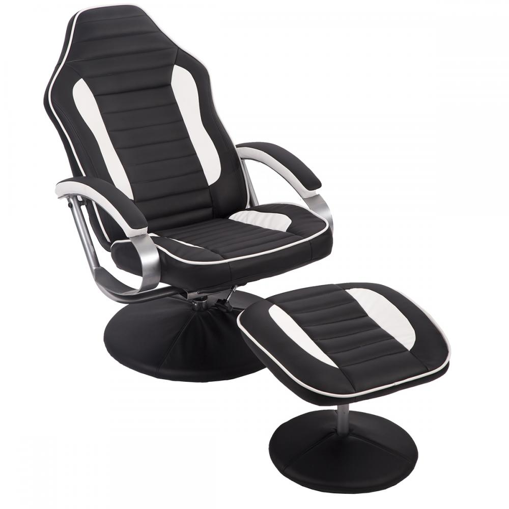 New Comfortable PU Recliner Chair Relax Racing Chair ...