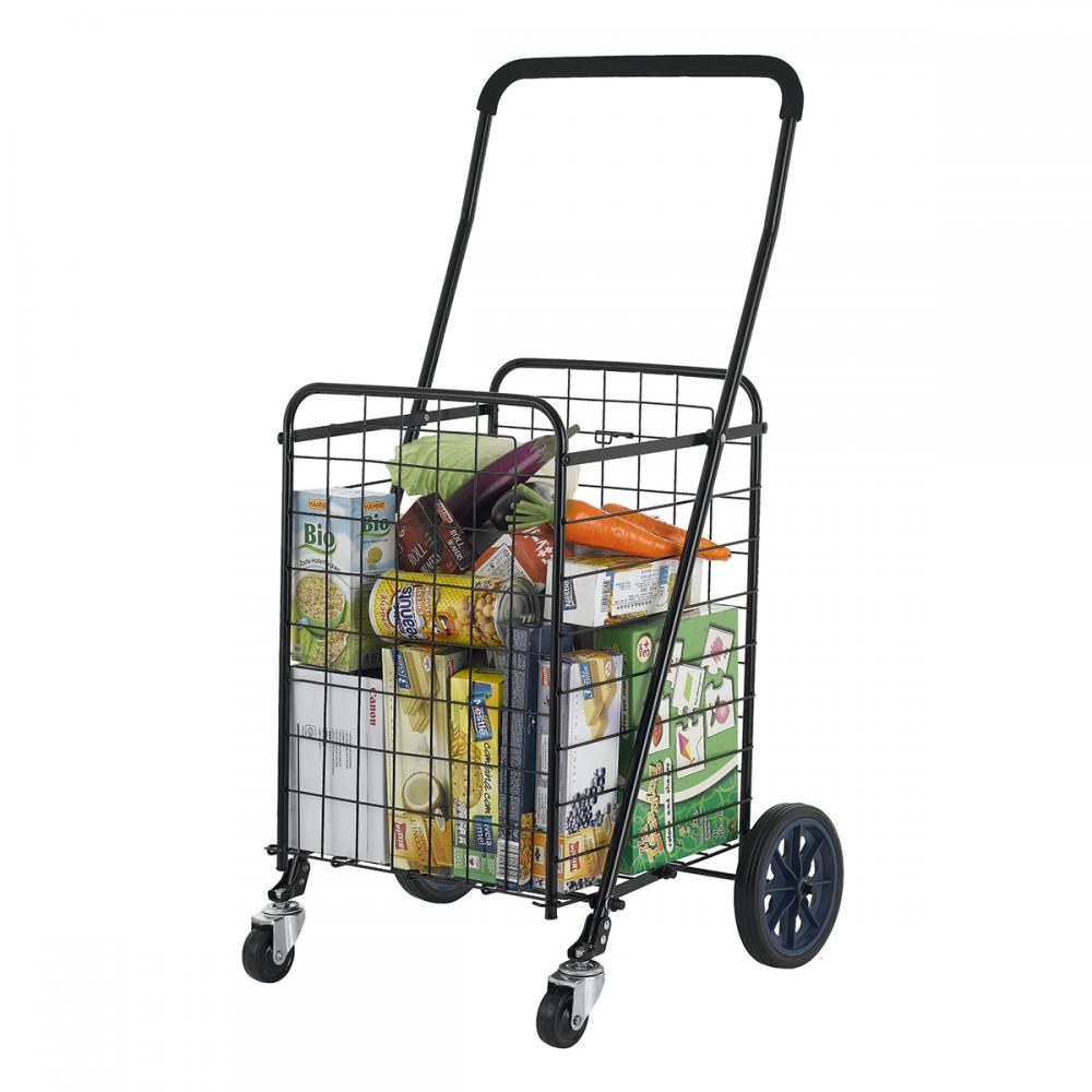 laundry cart on wheels folding shopping cart jumbo size basket with wheels for 10536
